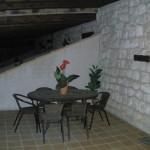 Mesa en el porche